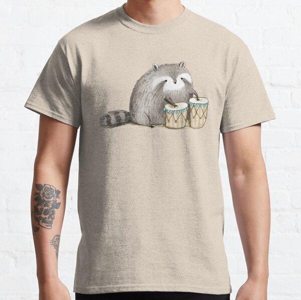 Waschbär auf Bongos Classic T-Shirt