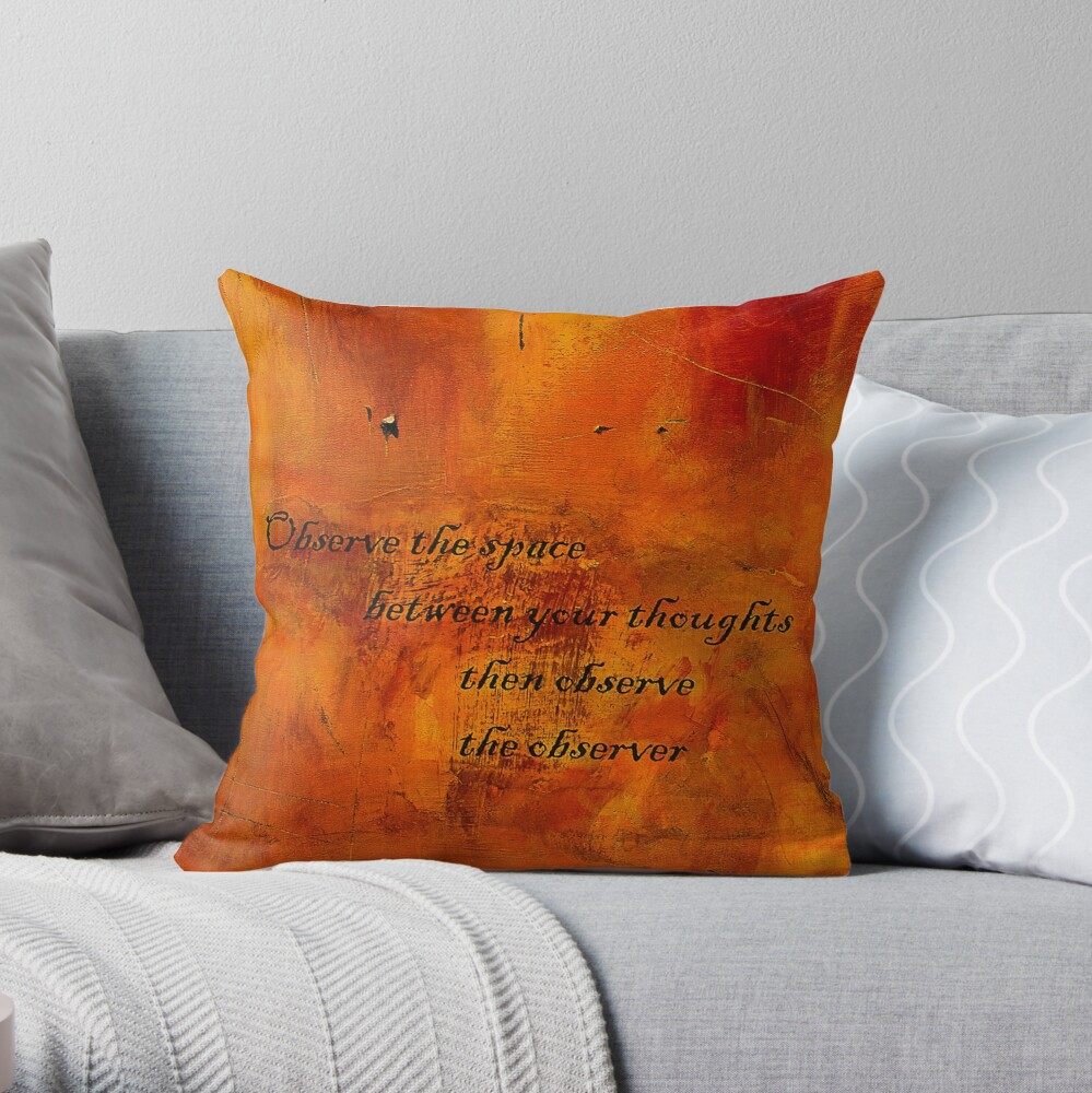 Observe Throw Pillow