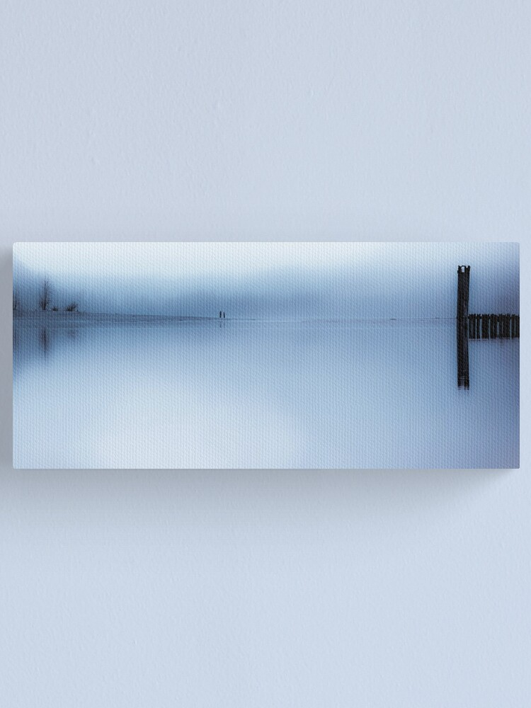 Alternate view of Misty Blue Canvas Print