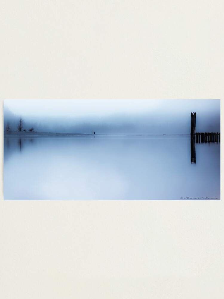 Alternate view of Misty Blue Photographic Print