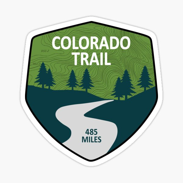 Colorado Trail Sticker
