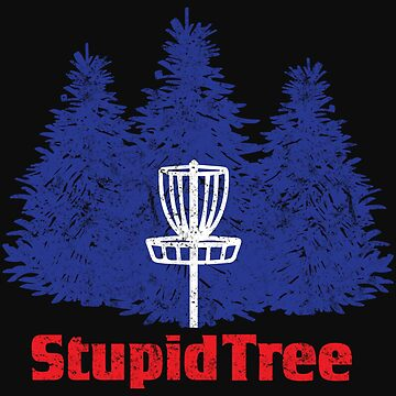 Blue Tree Disc Golf Frolf by normaltshirts