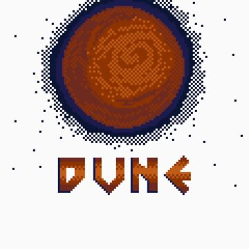 DUNE 8bit by rosemarydarling