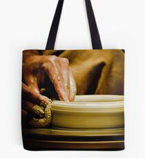 Wheel Turned Pottery Tote Bag
