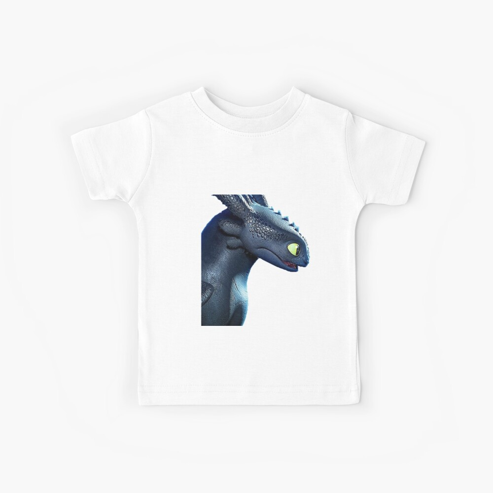 Night Fury How to Train Your Dragon 3 Kids T-Shirt