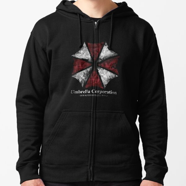 Umbrella Corporation Zipped Hoodie
