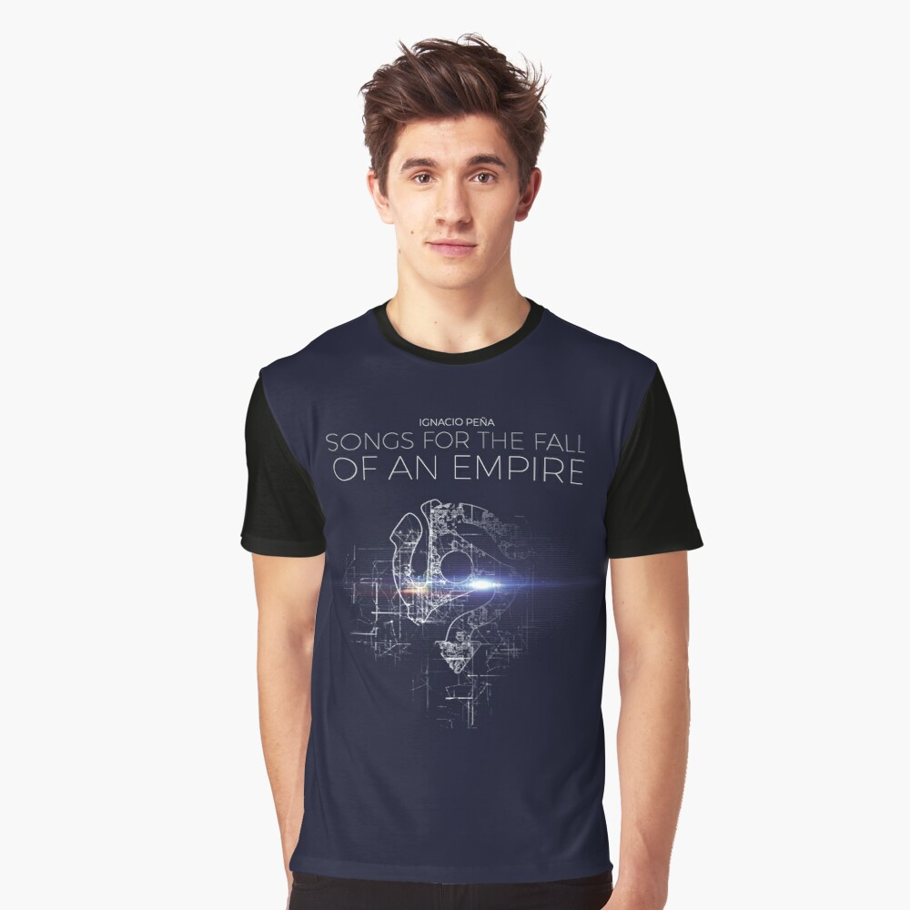 Ignacio Peña - Songs for the Fall of an Empire - Official Merchandise Graphic T-Shirt