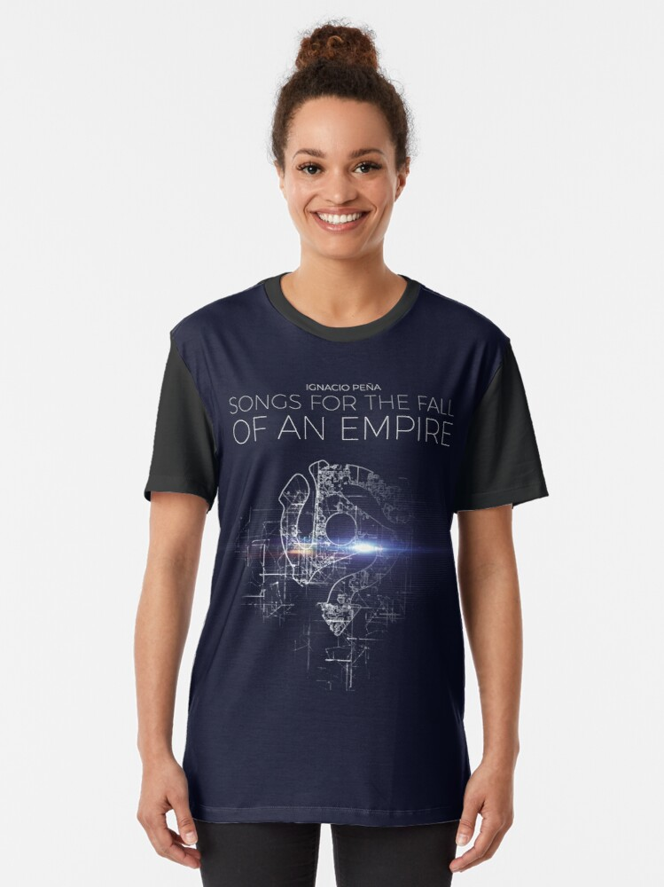 Alternate view of Ignacio Peña - Songs for the Fall of an Empire - Official Merchandise Graphic T-Shirt
