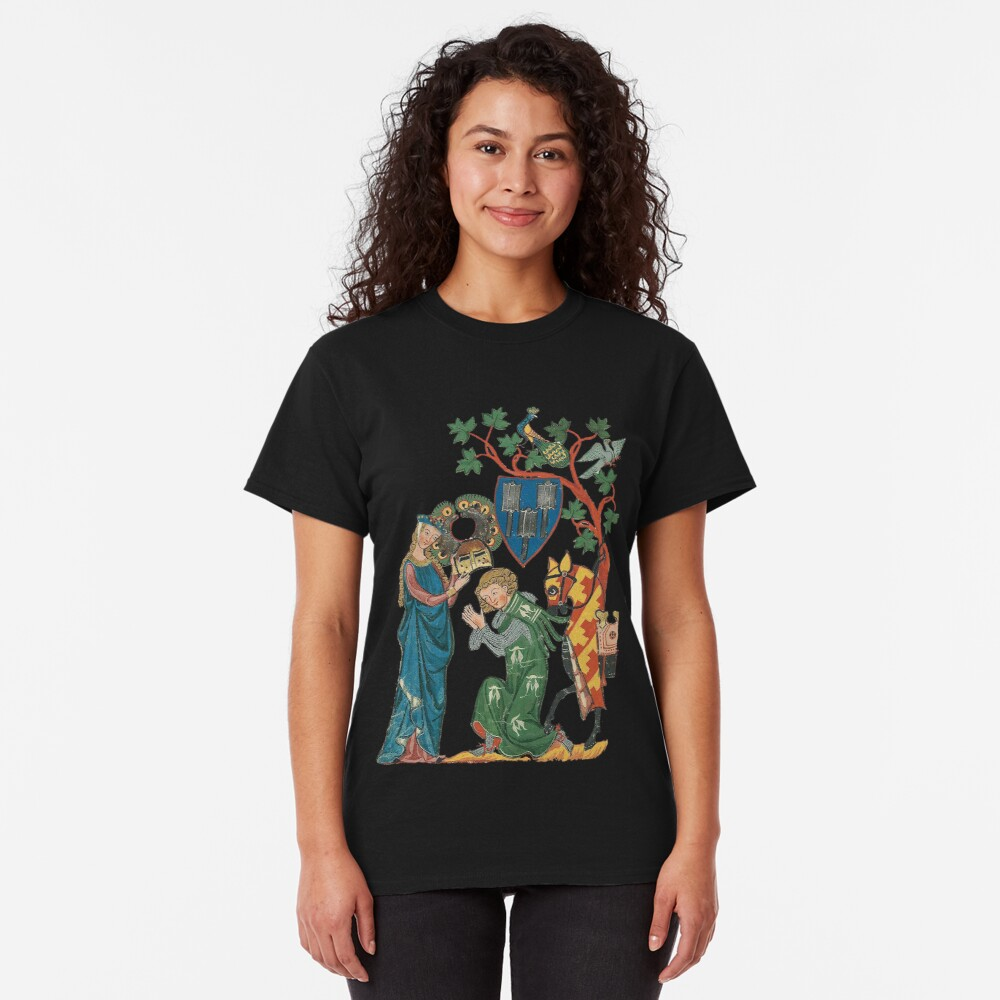 Medieval German Minne art  Classic T-Shirt