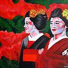 Geishas in the Garden by signaturelaurel