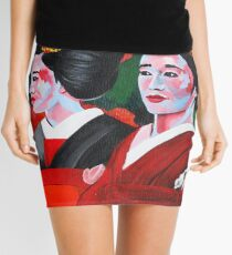 Geishas in the Garden Mini Skirt