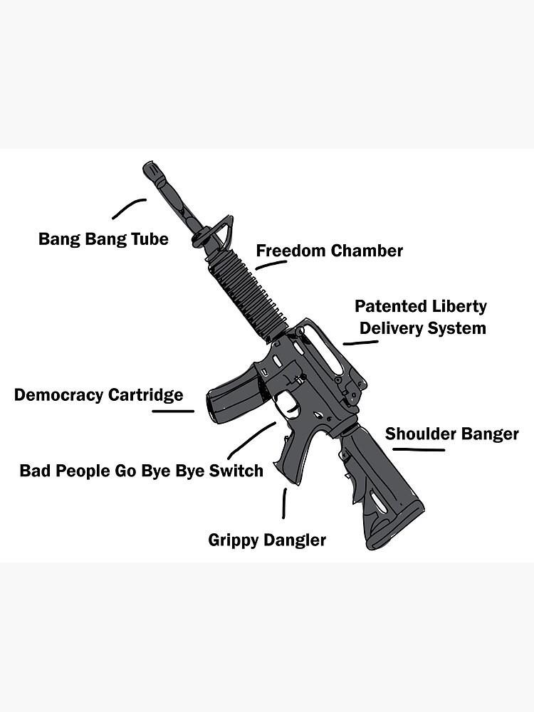 FUNNY GUN T Shirt 2nd amendment If guns Kill People Firearms Humour GRAPHIC TOP