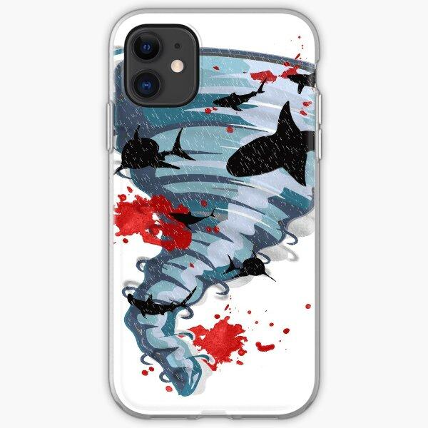 Shark Tornado - Science Fiction Shark Movie - Shark Attack - Shark Tornado Oh Hell No - Sharks! iPhone Soft Case