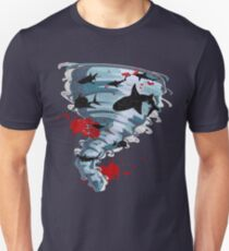 Shark Tornado - Science Fiction Shark Movie - Shark Attack - Shark Tornado Oh Hell No - Sharks! Slim Fit T-Shirt