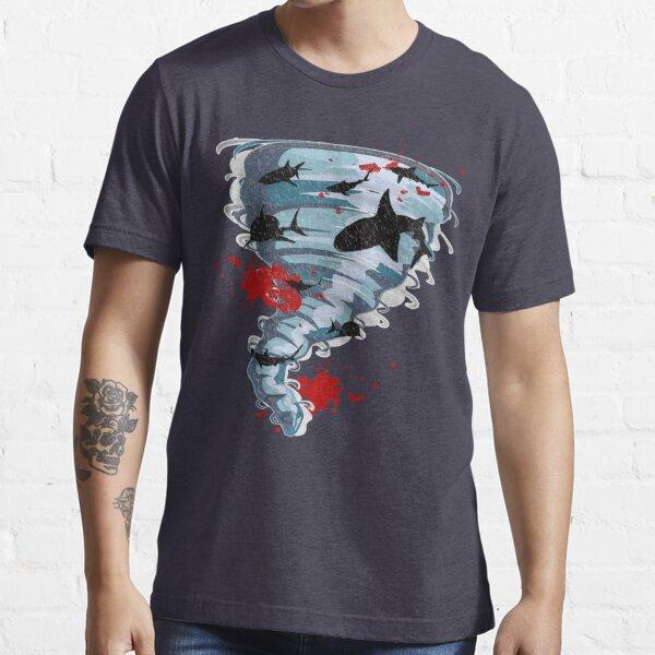 Shark Tornado - Science Fiction Shark Movie - Shark Attack - Shark Tornado Oh Hell No - Sharks! Essential T-Shirt