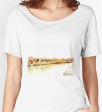 Roma: river Tevere Women's Relaxed Fit T-Shirt