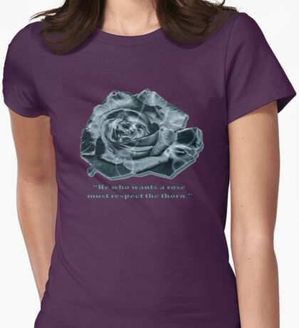 Teal Rose T-Shirt