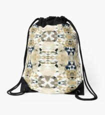 Neutral Tribal Drawstring Bag