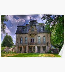 Matthews Mansion - Ellettsville, IN Poster