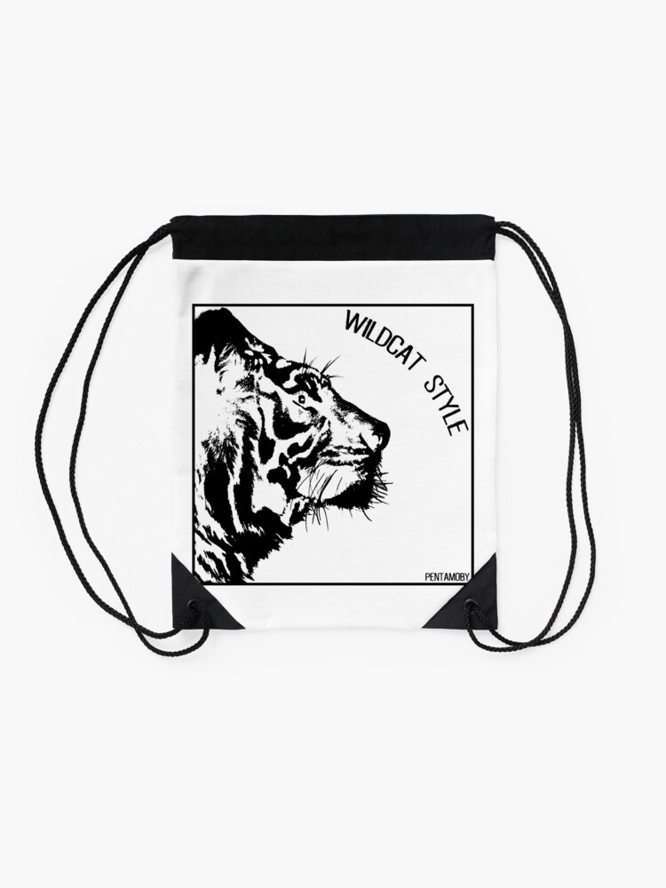 Alternate view of WILDCAT STYLE (b) Drawstring Bag