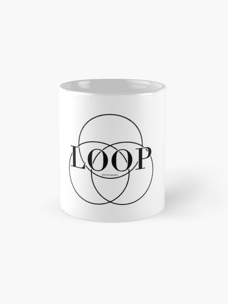 Alternate view of LOOP CIRCLE FASHION (b) Mugs
