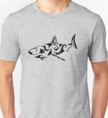 Tribal Shark Unisex T-Shirt