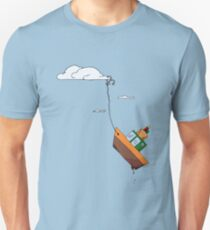 Drifting with the tide of the sky Unisex T-Shirt