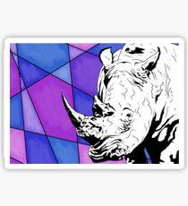 Nashorn Sticker