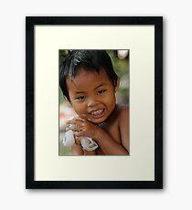 Ken-Louie Framed Print