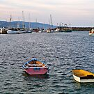 Apollo Bay, Victoria. Fishing Harbour. by johnrf