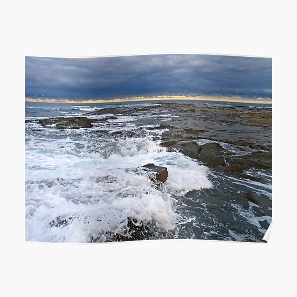 Shipwreck Coast, Apollo Bay, Victoria. Poster