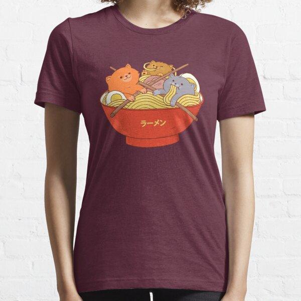 Ramen noodles and cats (HD) Essential T-Shirt