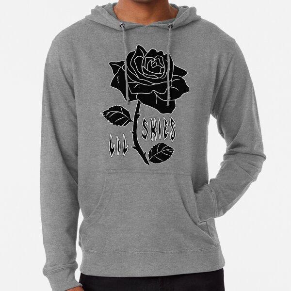 lil skies dark rose Lightweight Hoodie