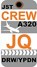 JQ A320 Crew Darwin by AvGeekCentral
