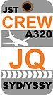 JQ A320 Crew Sydney by AvGeekCentral