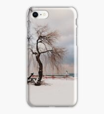 A Winter's Day at Lake Ontario-Canada iPhone Case/Skin