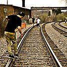 Rail Running by wittgraham