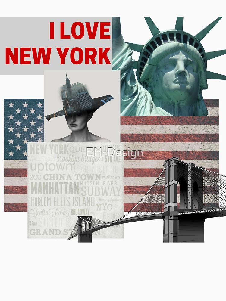 I love New York von EH-Design