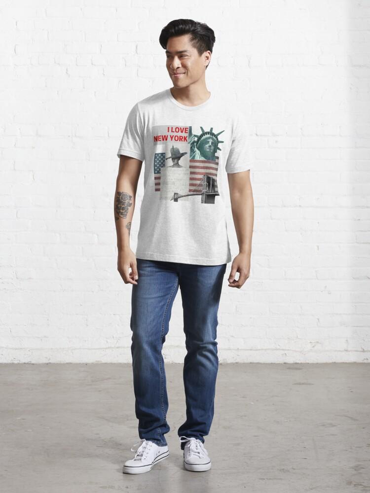 Alternative Ansicht von I love New York Essential T-Shirt