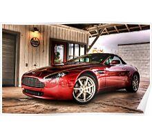 Aston Martin Vantage Poster