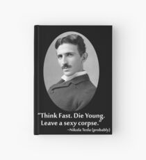 Sexy Tesla 01 Hardcover Journal