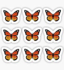 Monarch Butterfly Pack Sticker