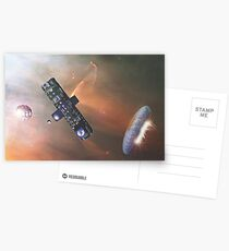 Space Station s5 Postcards