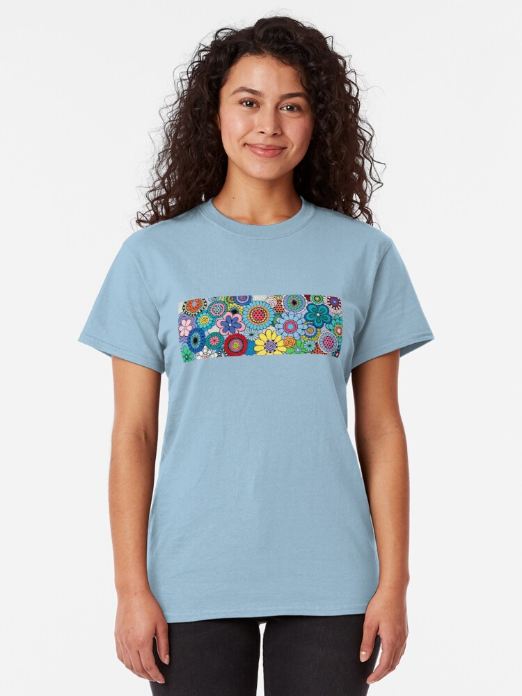 Alternate view of One Yellow Bloom Classic T-Shirt