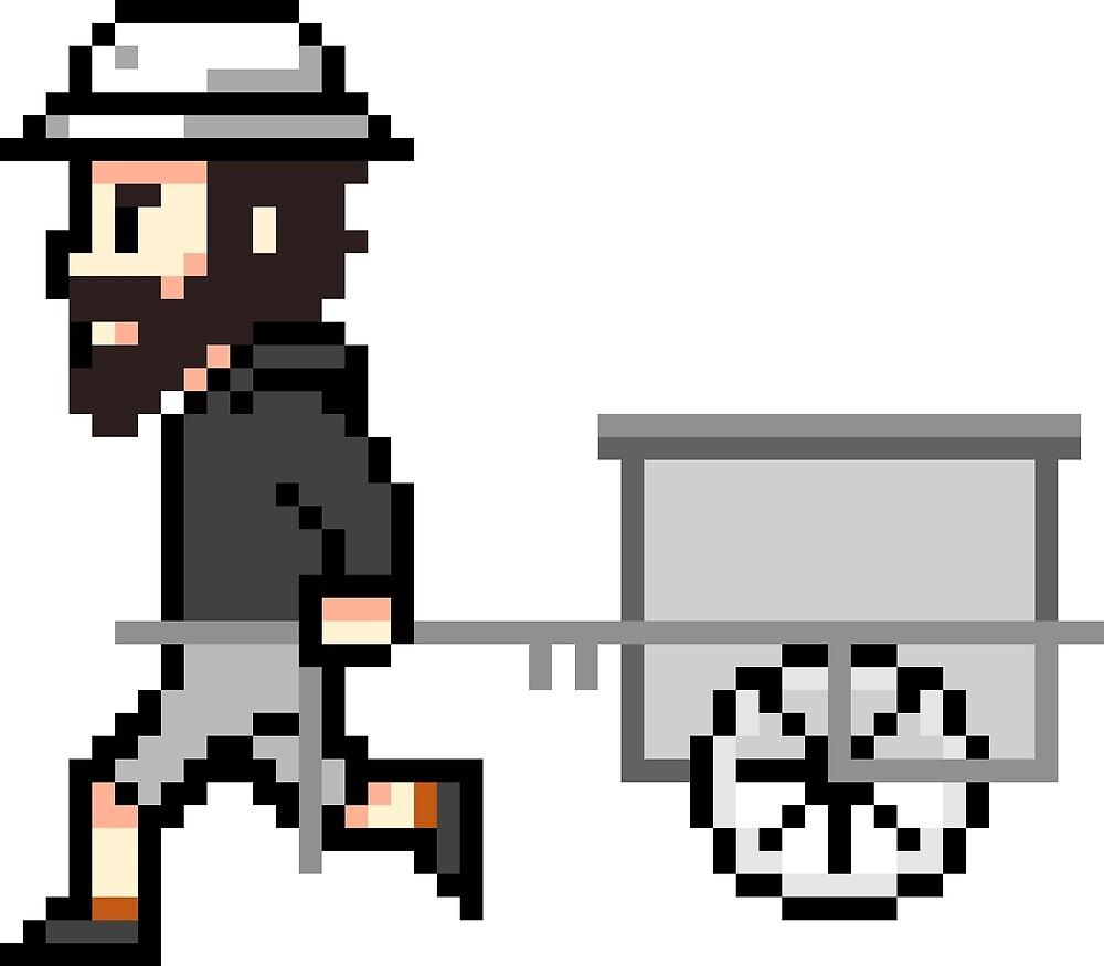 The Longest Pixel (white) von TheLongestWay
