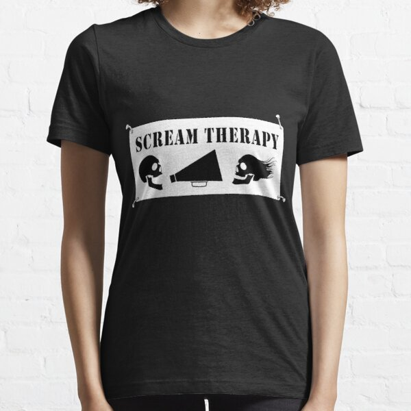 Scream Therapy Essential T-Shirt