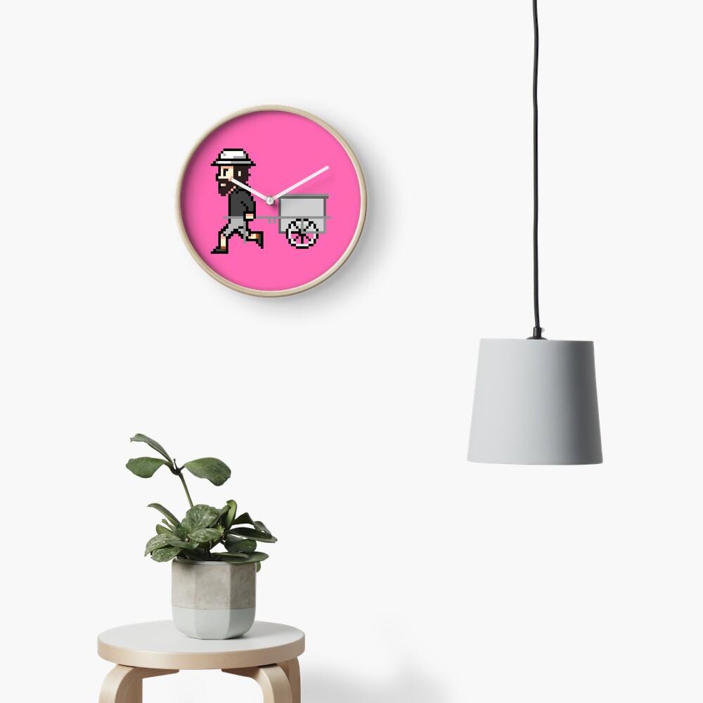 The Longest Pixel (pink) Uhr
