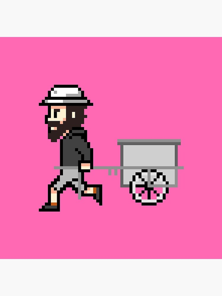 The Longest Pixel (pink) von TheLongestWay