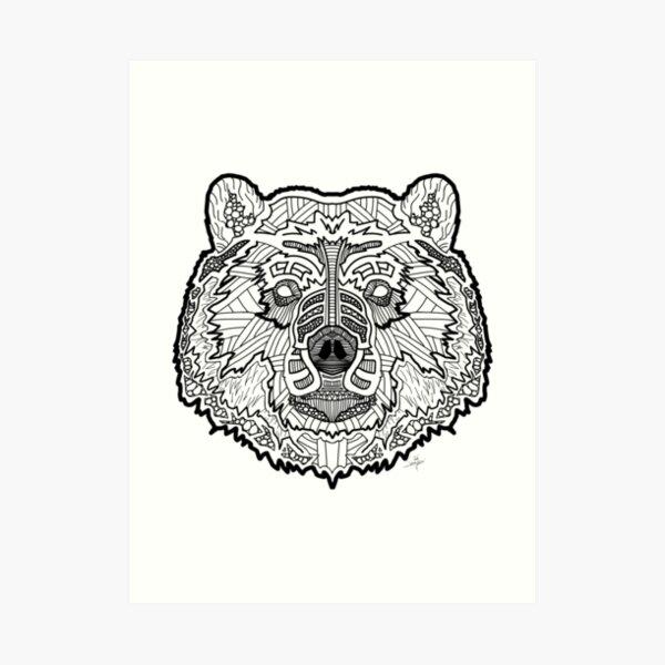 Norse Bear Art Print