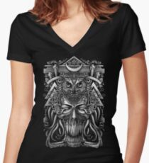 Winya No. 61 Women's Fitted V-Neck T-Shirt